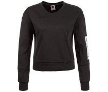 Light Cropped Sweatshirt Damen