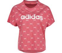 Linear Graphic T-Shirt Damen