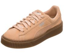 Suede Platform Animal Sneaker Damen