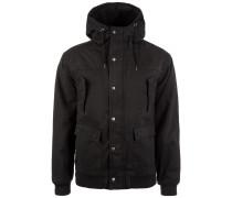 Hooded Cotton Jacke Herren