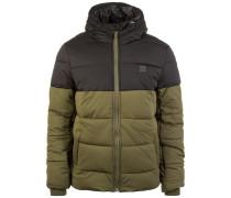 Hooded 2-Tone Puffer Winterjacke Herren