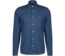 Slim Fit Denim Shirt Herren