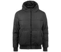 Hooded Peach Puffer Jacke Herren