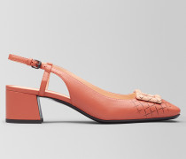 CHERBOURG PUMPS AUS NAPPA IN HIBISCUS