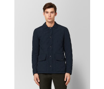 JACKE AUS POLYESTER IN DARK NAVY