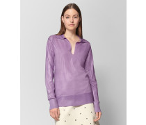 PULLOVER AUS WOLLE LILAC