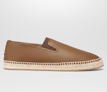 GALA ESPADRILLE AUS NAPPA IN LIGHT CALVADOS