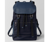 SASSOLUNGO RUCKSACK AUS HI-TECH-CANVAS IN TOURMALINE PACIFIC