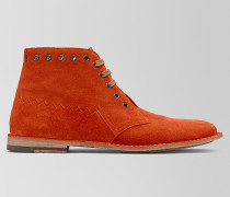 MALDON BOOT AUS WILDLEDER DARK TERRACOTTA