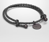 ARMBAND AUS INTRECCIATO NAPPA IN NEW LIGHT GREY