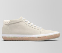 BV FELLOWS SNEAKER AUS VELOURSLEDER IN MIST