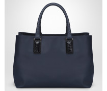 TOTE BAG IN DARK NAVY MARCOPOLO