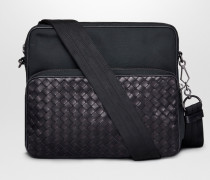 MESSENGER-TASCHE AUS CANVAS IN NERO