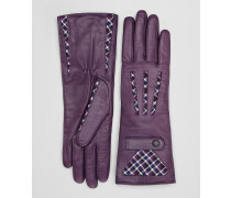 HANDSCHUHE AUS SHEARLING IN DECO ROSE