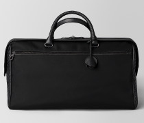DUFFLE BAG AUS HI-TECH-CANVAS IN NERO