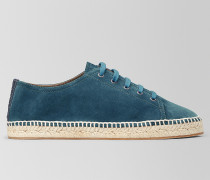 GALA ESPADRILLE AUS VELOURSLEDER IN DENIM