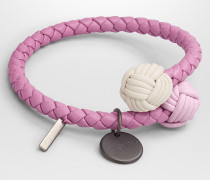 MEHRFARBIGES ARMBAND AUS INTRECCIATO NAPPA IN TWILIGHT
