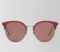 SONNENBRILLE AUS METALL IN RED