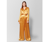 OVERALL AUS SATIN IN MARIGOLD FAWN