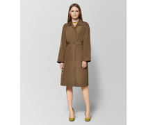 TRENCHCOAT AUS POLYESTER IN CALVADOS