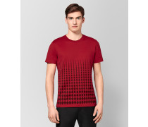 T-SHIRT AUS BAUMWOLLE IN CHINA RED