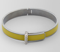 ARMBAND AUS OXIDIERTEM SILBER/EMAILLE IN CHAMOMILE