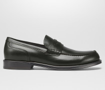 GAHAN LOAFER AUS KALBSLEDER IN DARK MOSS