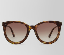 SONNENBRILLE AUS AZETAT IN AVANA BROWN