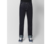 DENIM JEANS IN DARK NAVY