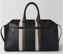 STRADE DUFFLE BAG AUS NAPPA IN NERO/KOSTBARER MIX