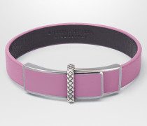 ARMBAND AUS NAPPA IN TWILIGHT MIT EMAILLE