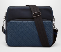 MESSENGER-TASCHE AUS HI-TECH-CANVAS IN TOURMALINE PACIFIC