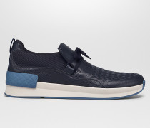 BV GRAND SNEAKER AUS KALBSLEDER IN DARK NAVY