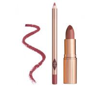 Luscious Lip Slick Lipstick & Lip Liner - Stoned Ros
