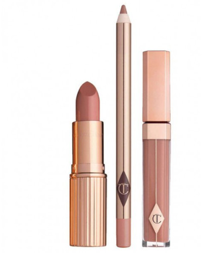 The Dolce Vita Lip Kit - Lipstick & Lipgloss