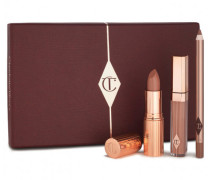 The Perfect Nude Kiss - Lipstick, Liner and Gloss Se