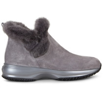 Interactive Sneaker Ankle Boots