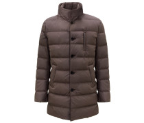 Double Front Daunenjacke Light