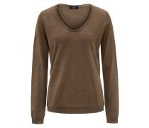 Pullover mit weitem Ausschnitt