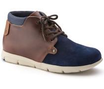 Estevan Suede Leather Blue/Brown