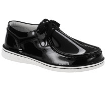 Pasadena Embossed Leather Patent Schwarz Lack