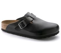 Boston Oiled Leather Soft Footbed Amalfi Black