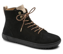 Bartlett Suede Leather Schwarz