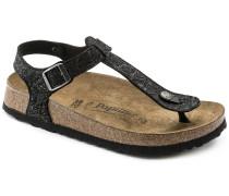 BIRKENSTOCK Kairo Embossed Natural Leather Schwarz