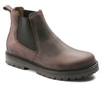 Stalon Nubuck Leather Mocca