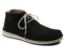 Troy Suede Leather Schwarz