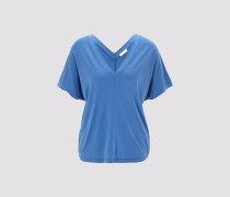 T-Shirt  TAMILA Damen blau