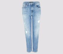 Jeans MOM Damen blau