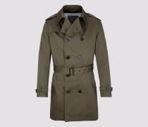 Mantel BASTILLE Herren grün