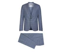 Anzug P-IRVING Herren blau